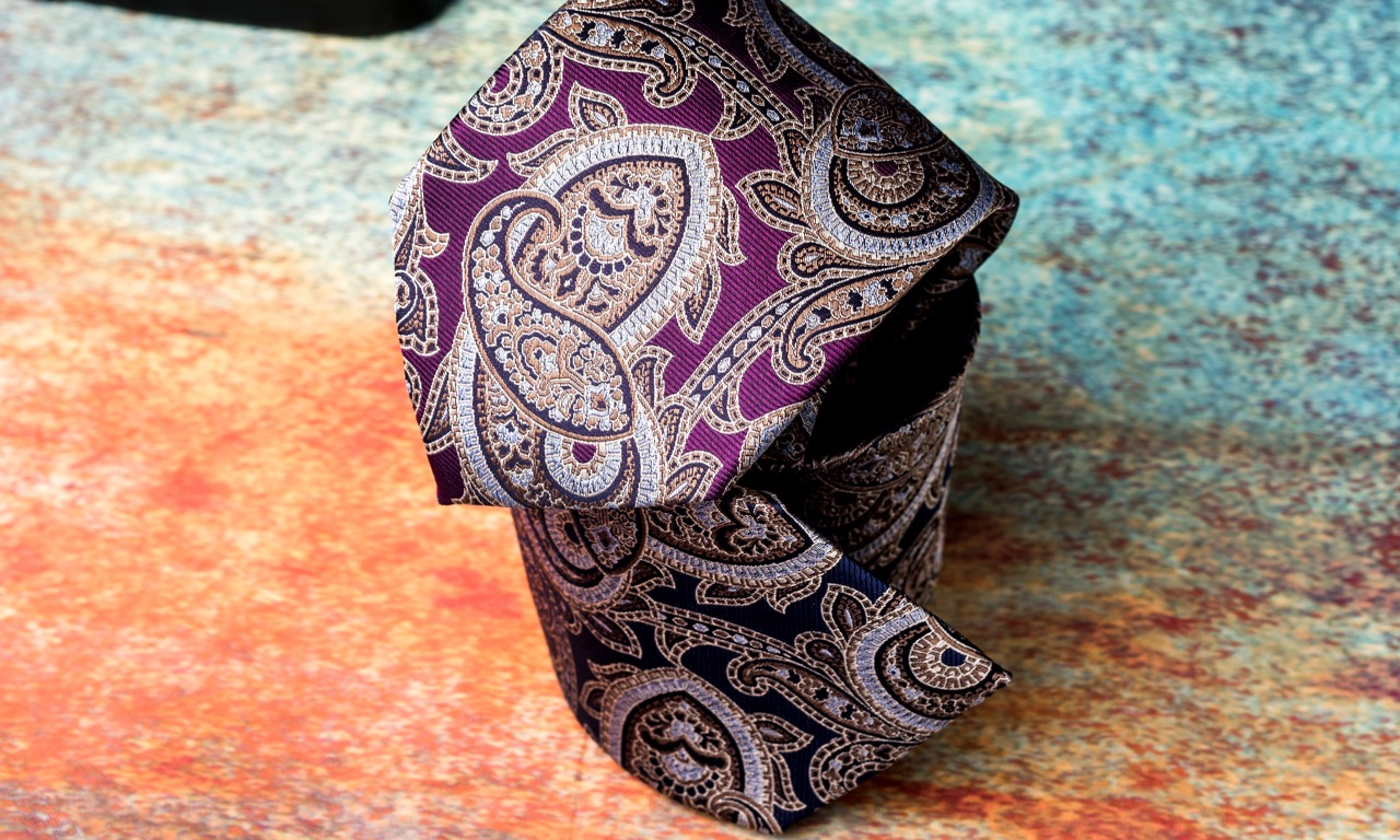 Paisley Neckties