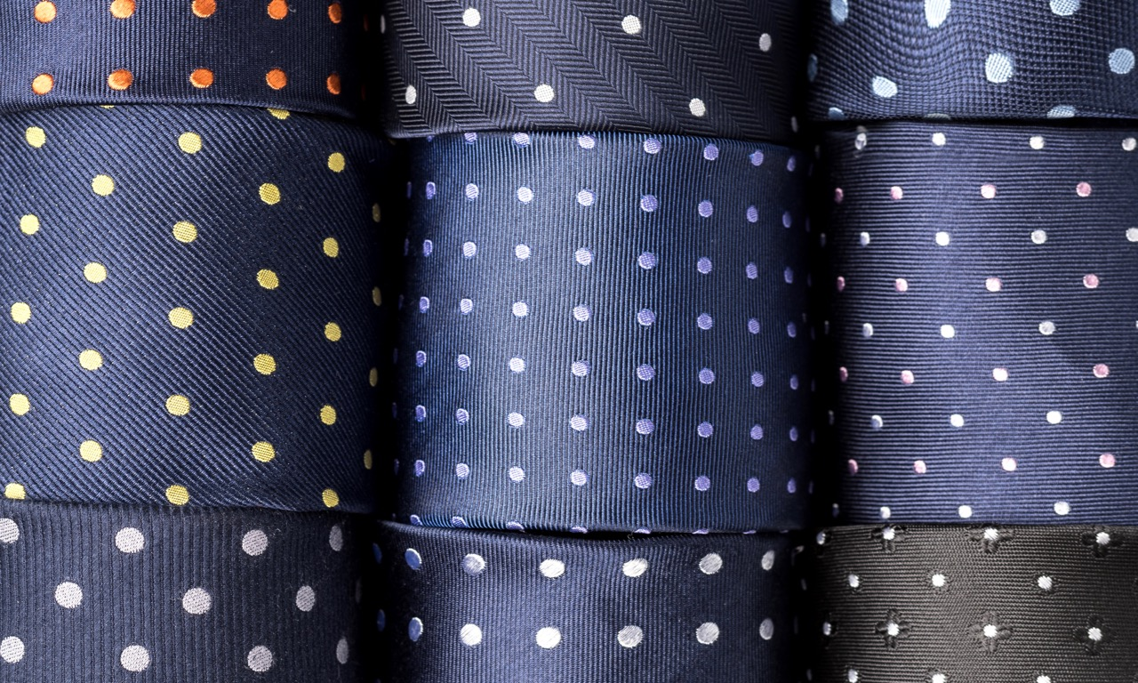 Polka Dot Neckties