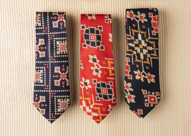 Khadi Silk Neckties