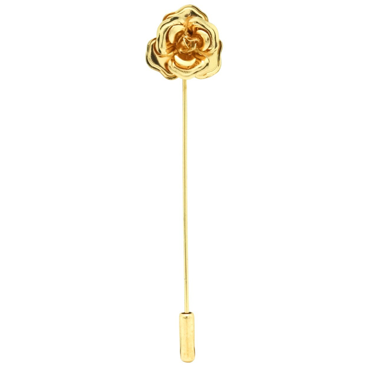 3D Gold Rose lapel pin
