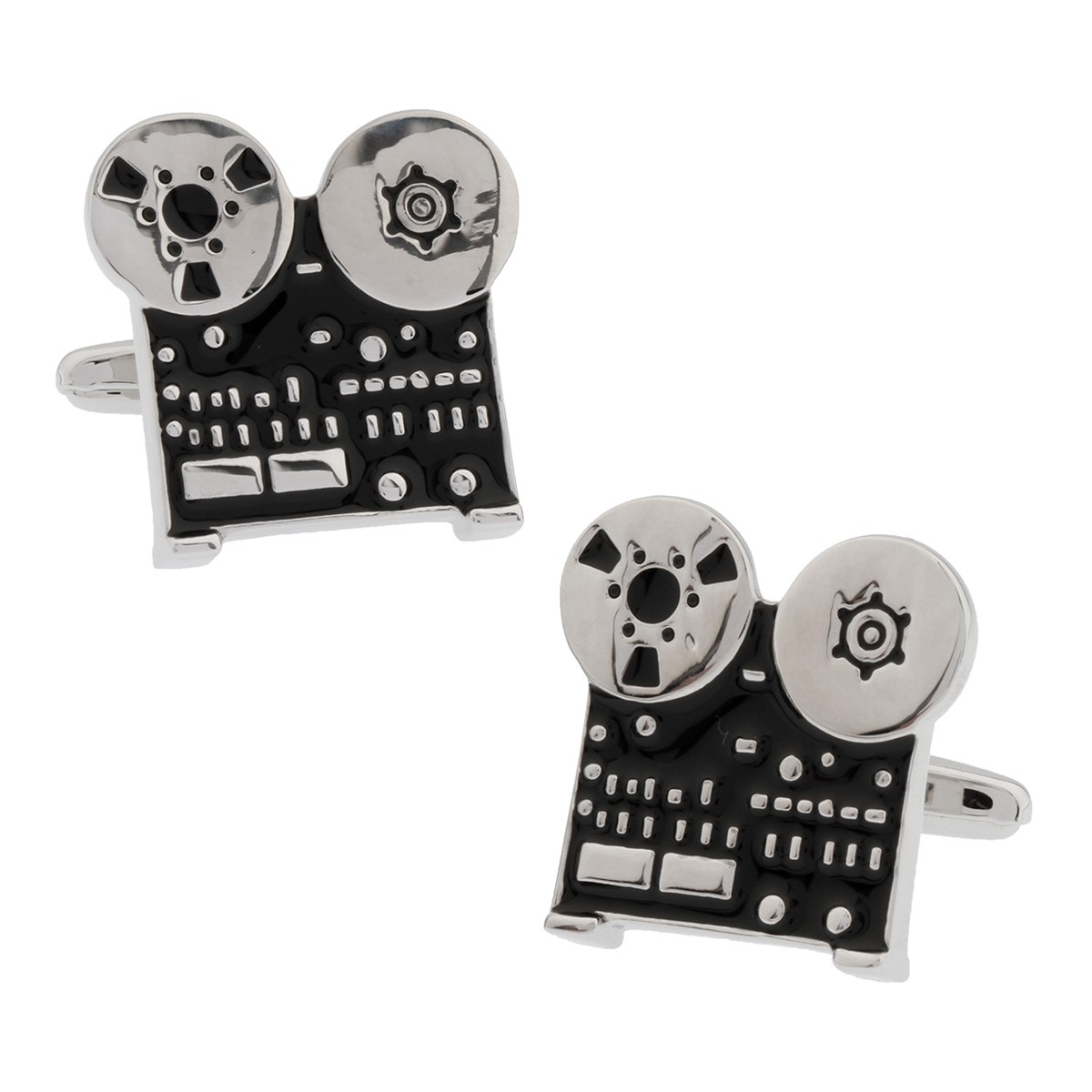 Movie Projector Cufflinks