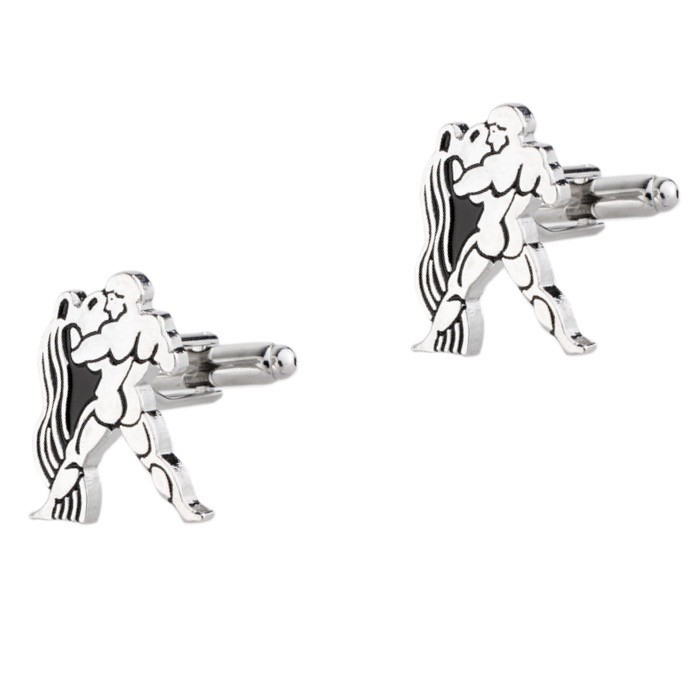 AQUARIUS ZODIAC SIGN CUFFLINKS