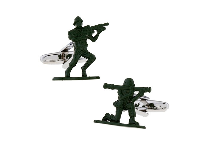 Military Soldiers Cufflinks
