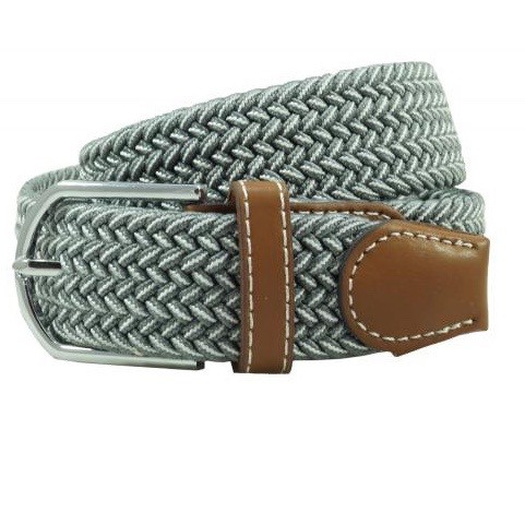 Braid - Grey/White (Belt)