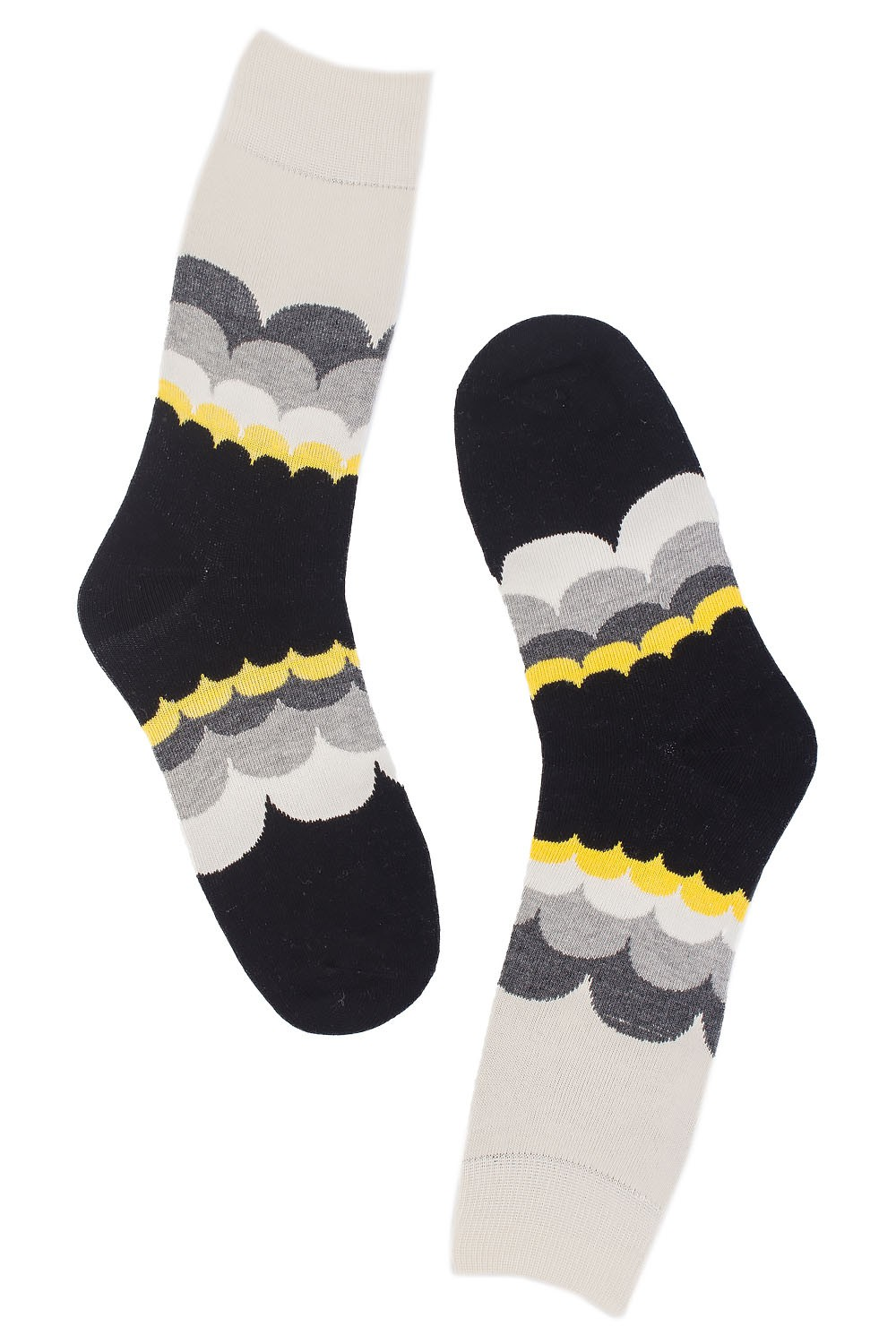 Cloud Surfer Cream Red Black Socks