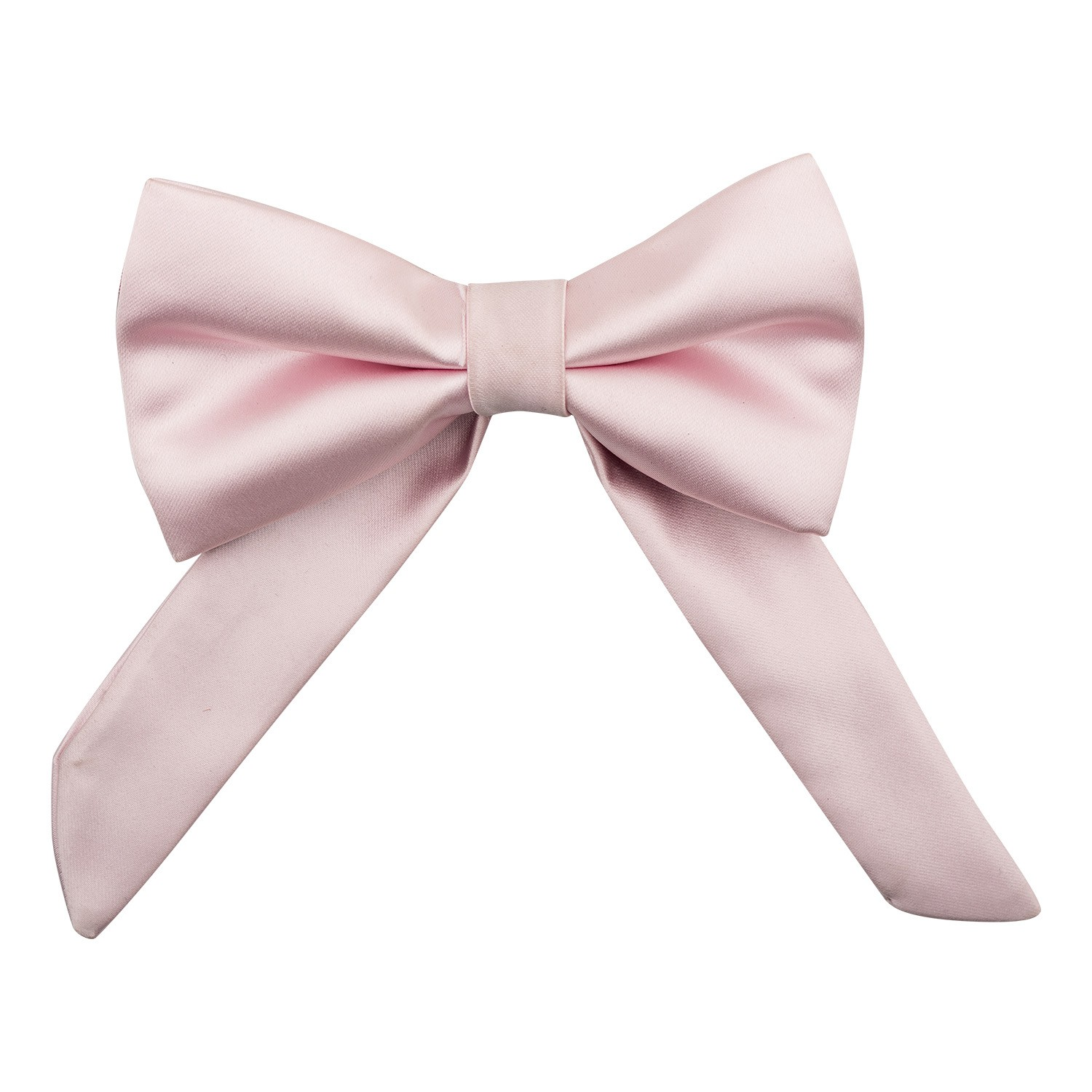 Pink Bolo Bow Tie