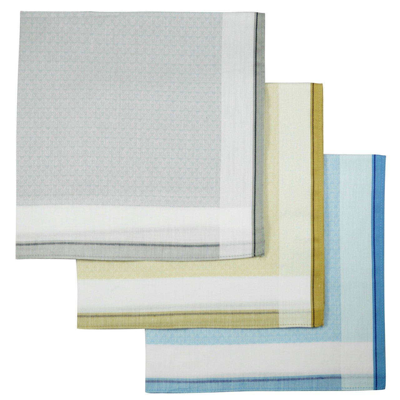 100% cotton handkerchiefs