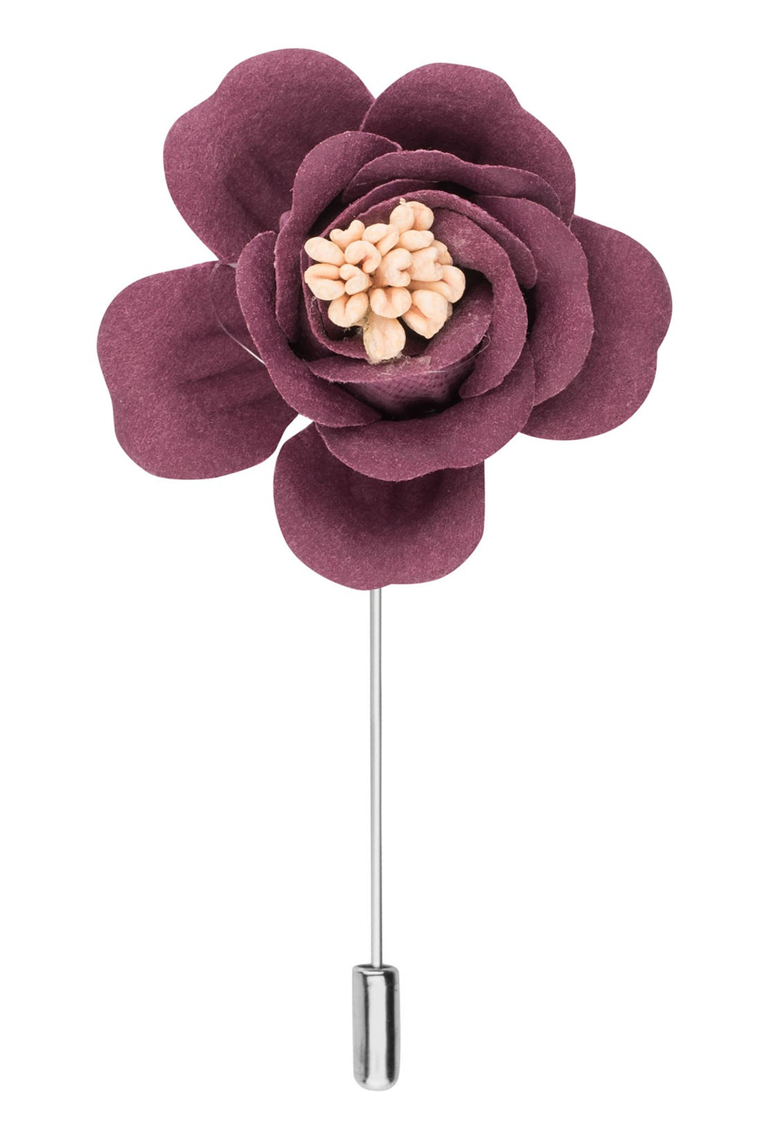 Rose Pink Flower Lapel pin