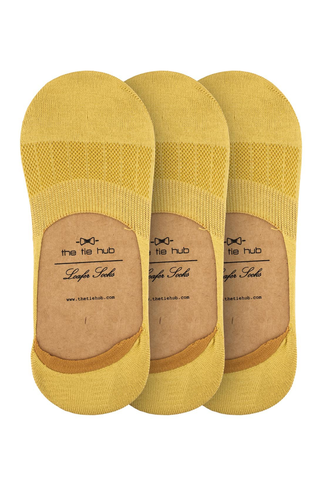 Pack of 3 Corty Solid Chrome Loafer Socks
