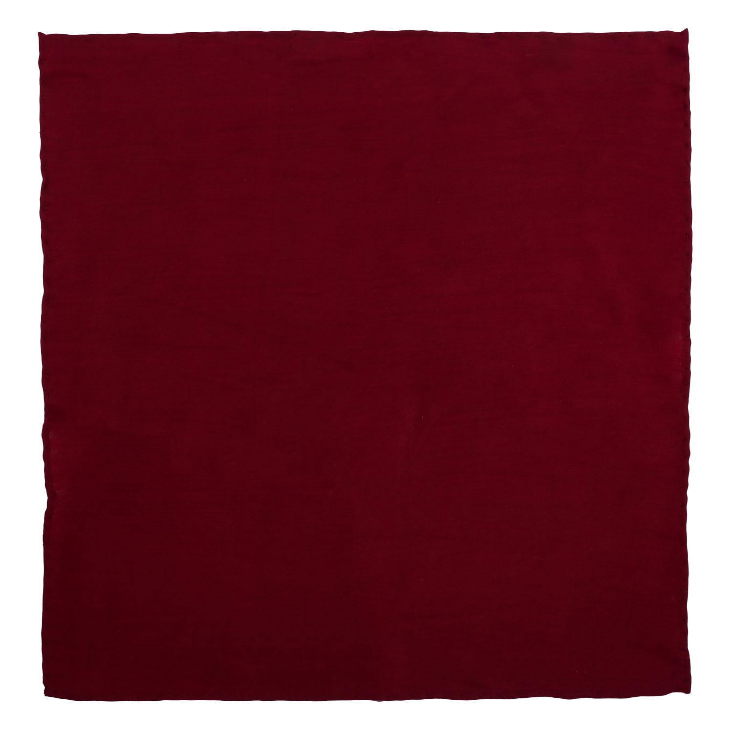 Solid Maroon Pocket Square