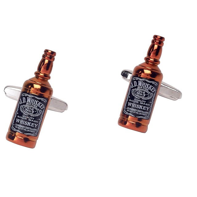 JD Whiskey Cufflinks