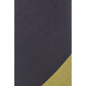Spare Stripe Green and Black Handmade Microfiber Necktie