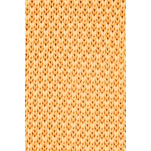 Cardinal Solid Yellow Slim Handmade Knitted Necktie