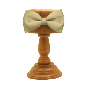 Dull Gold Bow Tie