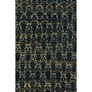 Scramble Solid Green Slim Handmade Knitted Necktie