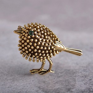 Little Birdy Gold Lapel pin for Men