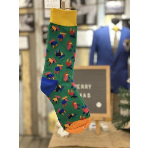 Reindeer Bright Socks