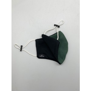 Green Suede Mask for Men