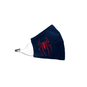 Spider-Man Navy Embroidered Mask