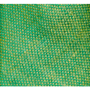 Two tone Solid Green 100% Pure Linen Neck Tie