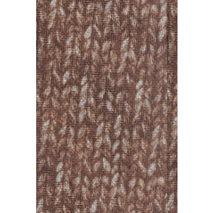 Dazzler-Brown Slim Handmade Wool and Silk Necktie