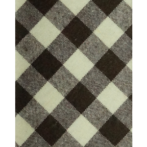 Wicker Plaid-Brown (Cotton Skinny Reservable)