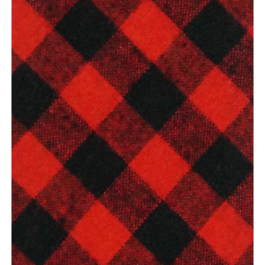 Wicker Plaid-Red (Cotton Skinny Reservable)