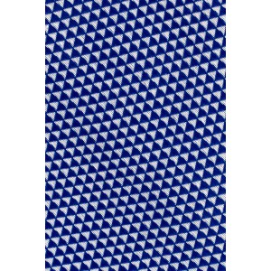 Flecked Solid Blue 100% Silk Necktie