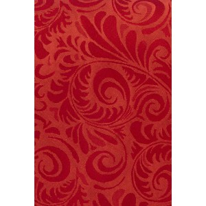 Twill Self Paisley Red 100% Silk Necktie
