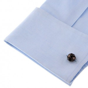 Gunmetal Small Knots Cufflink