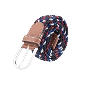 Wave Multicolor Elasticated  Elasticated Woven Belt
