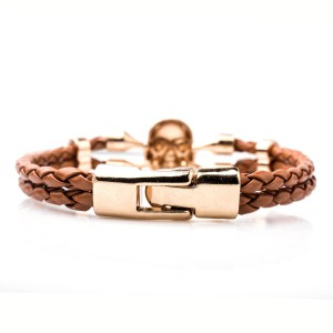 Danger Zone Rose Gold Wrist Band
