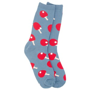 TT Deep Grey and red Cotton Rich Socks
