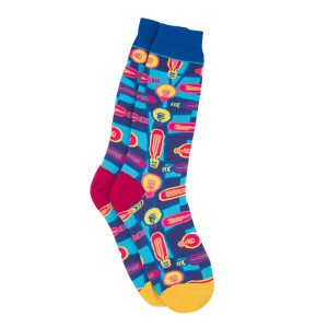 Bulb Multicolor Bright Socks