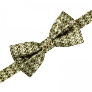 Cymopoleia Drive Checks - Gold (Bow Ties)