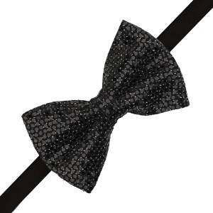 Disco Bow Tie - Black