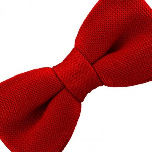 Industrial Solid - Tomato Red (Bow Tie)