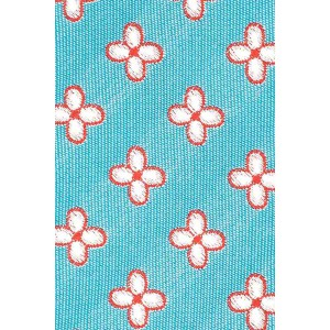 Wonder Floral Aqua Cashmere Necktie By The Tie Hub