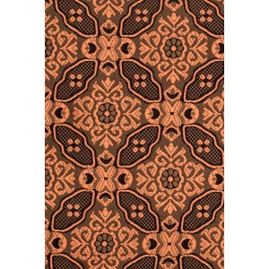Flower Network Bronze Floral Cravat For Men By The Tie Hub