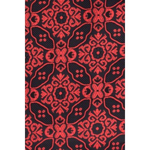 Flower Network Red Floral Cravat For Men By The Tie Hub