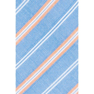 Rangle Blue Stripe 100% Cotton Necktie