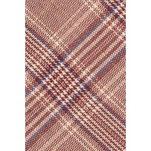 Brown Checkerd 100% Cotton Necktie