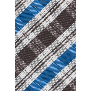 Andersen Blue and Brown Necktie