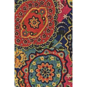 Multicolor Flower 60% Silk 40% Khadi Necktie
