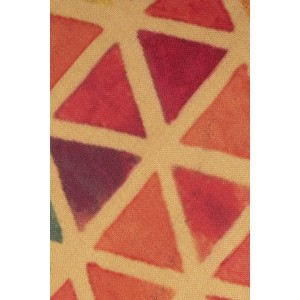 Multicolour triangle 60% Silk 40% Khadi Necktie