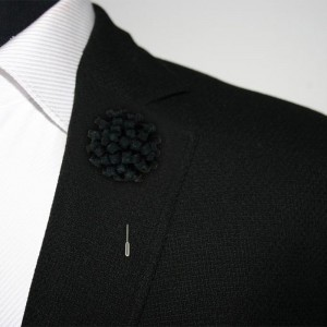 Opium Black Lapel Pin