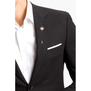 Lucy Charm Gold Lapel Pin
