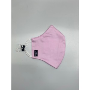 Pink Solid 100% Premium Cotton Reusable Face Mask ( Pack of 3)