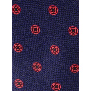First String Blue Woven Silk Necktie