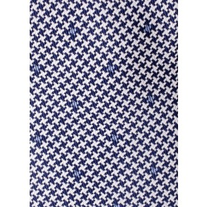 Kelly Blue Silk Stars Necktie